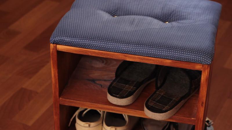 Тумба для обуви своими руками