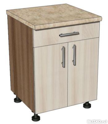 Тумба кухонная с ящиком