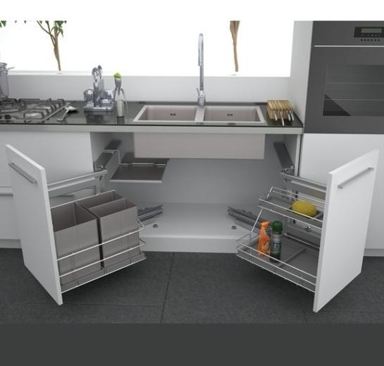 Тумба под мойку для кухни — особенности модуля