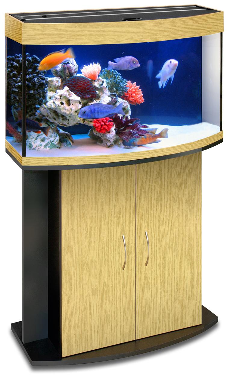 Тумба под панорамный аквариум