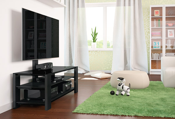 Тумбы с кронштейном для телевизоров