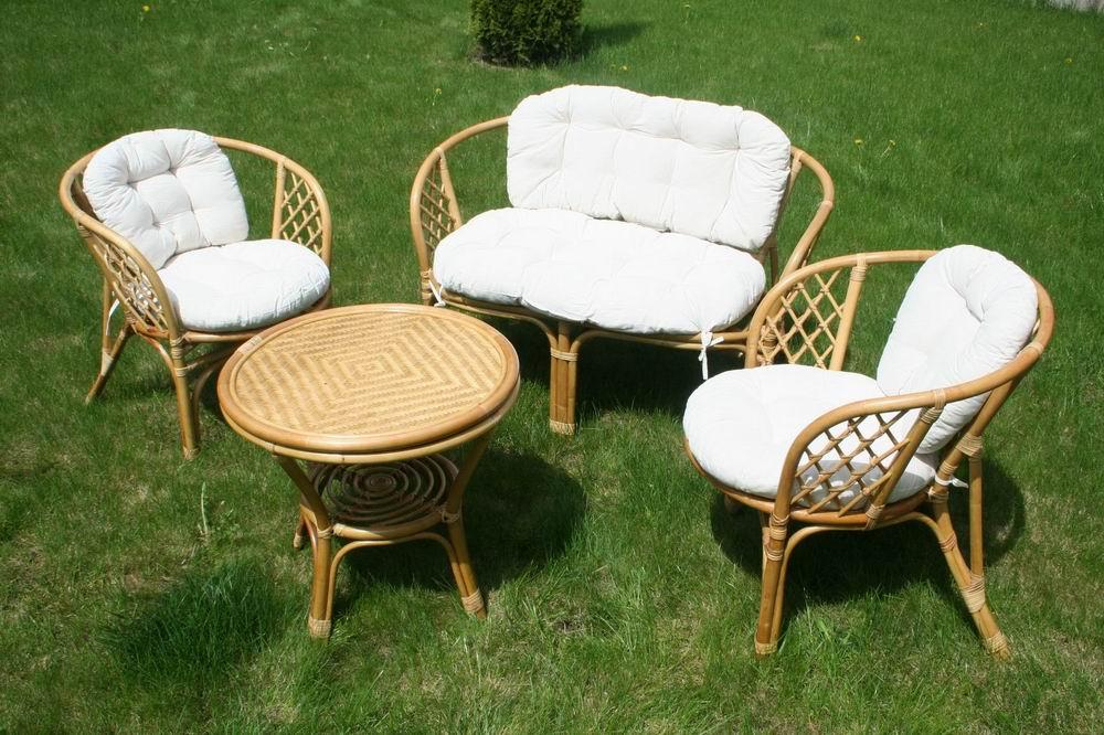 Варианты мебели из ротанга