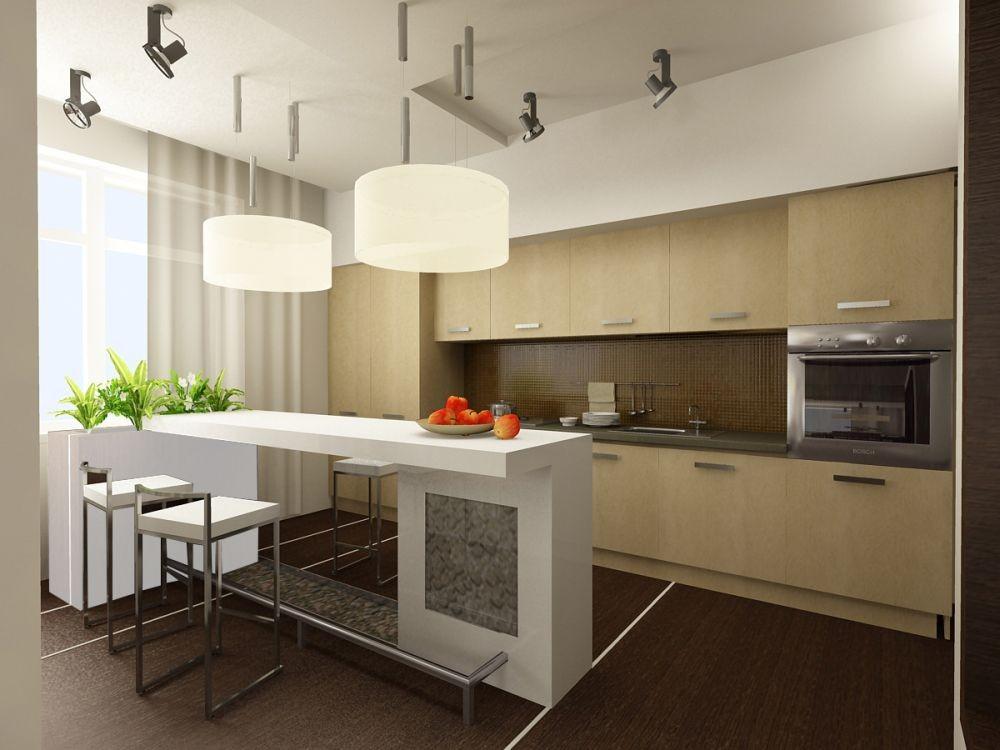 Выбор цвета кухонной мебели
