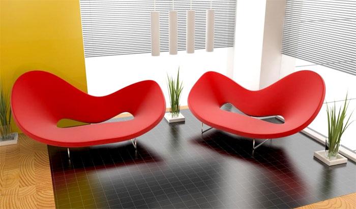 Яркие диванчики