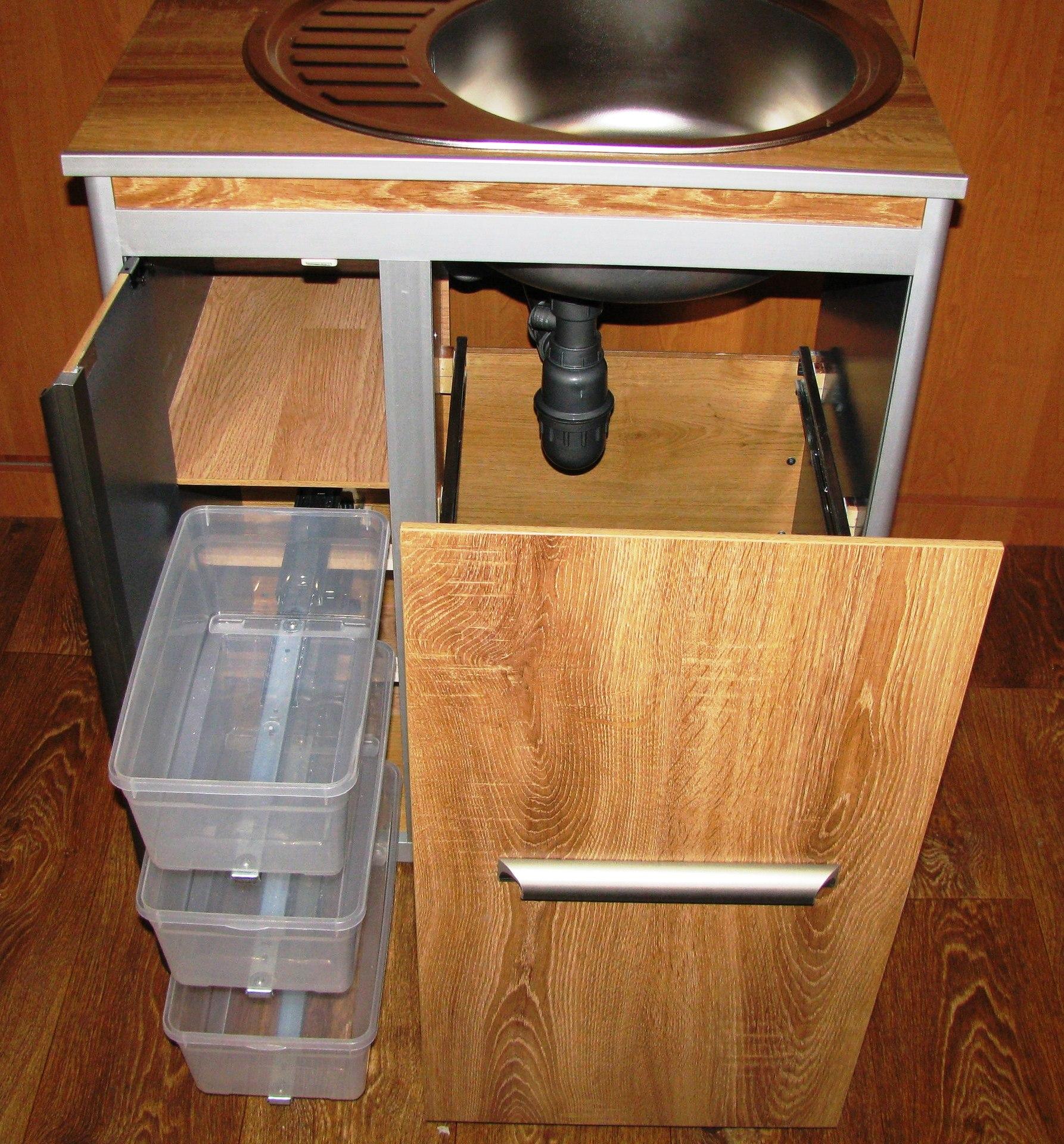 Ящик под мойку для кухни