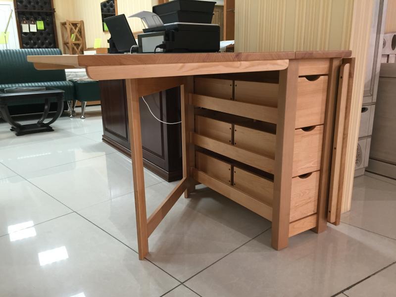 Деревянный стол книжка