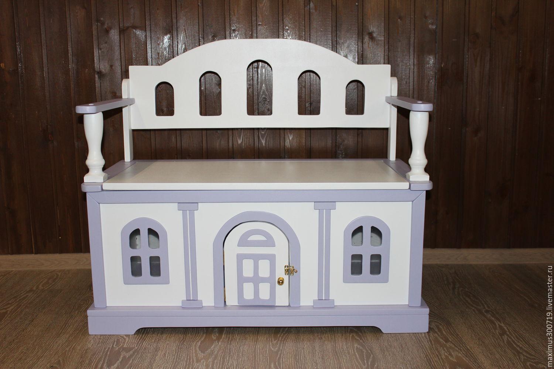 Комод скамья для детской