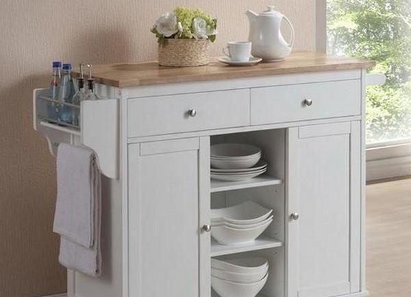 Кухонный стол-тумба с ящиками