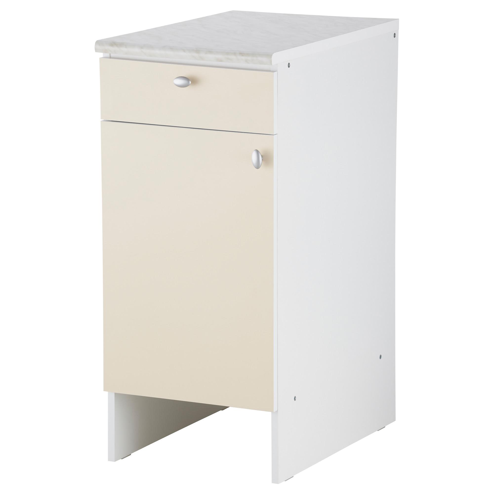 Напольный шкаф с дверью и ящиками