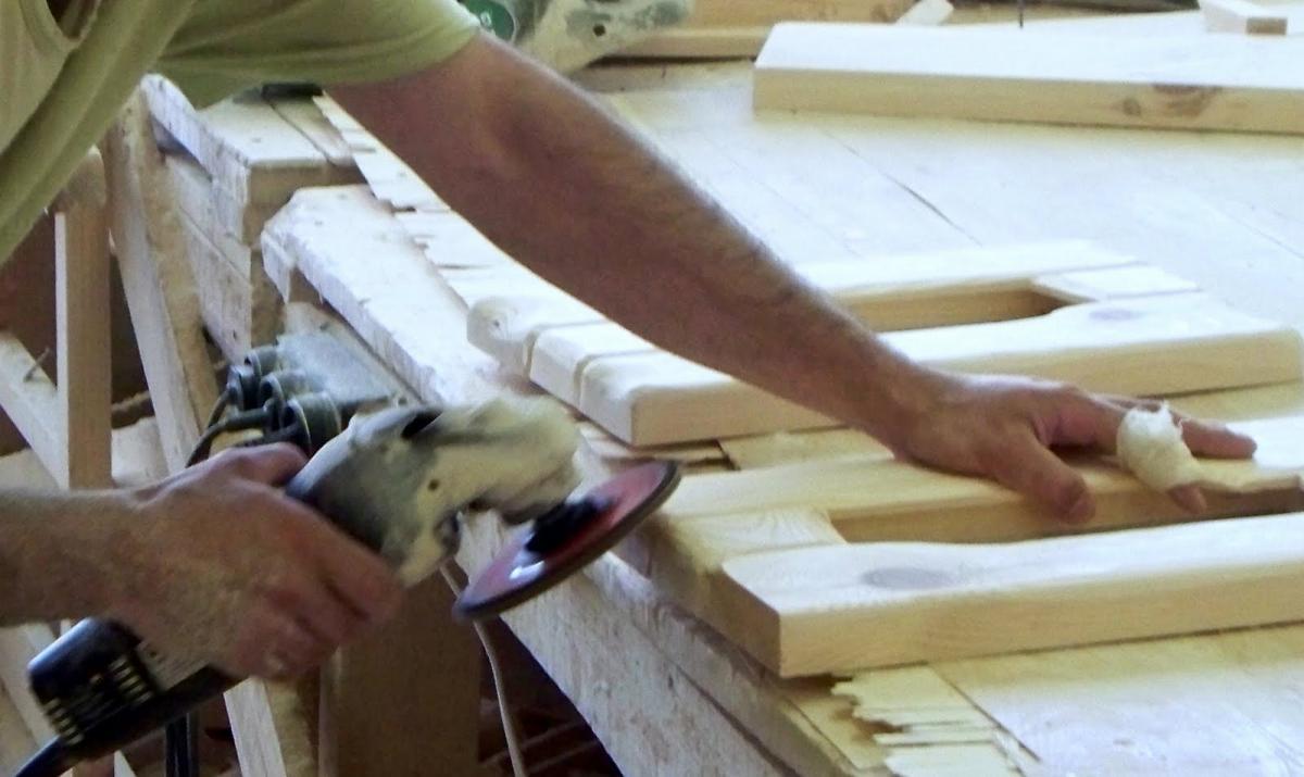 Обработка деревянных изделий
