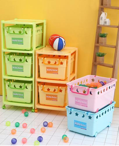 Пластиковые комоды и ящики