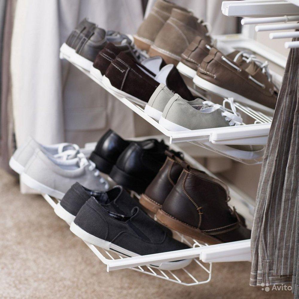 Расположение обуви