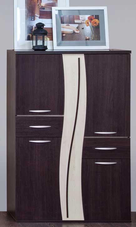 Широкий узкий комод