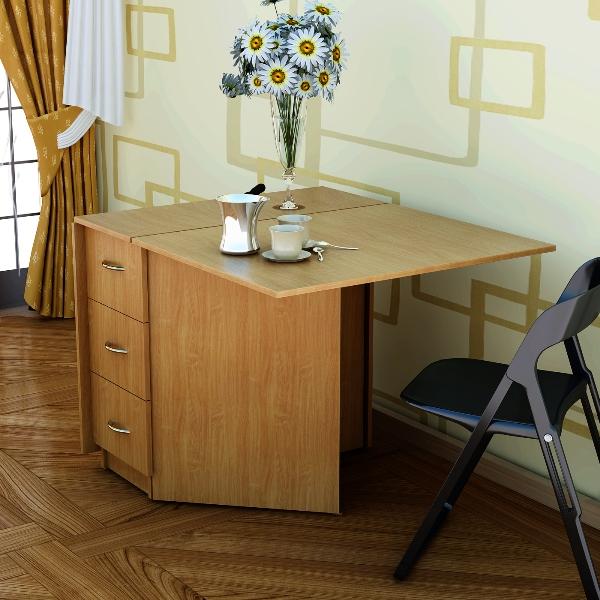 Стол с несколькими ящиками