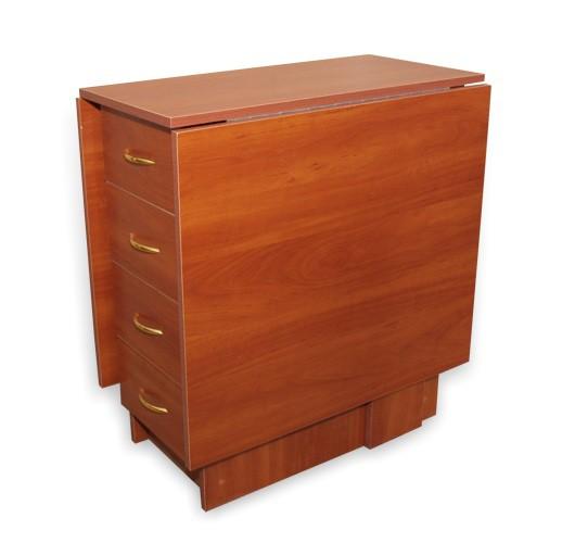 Стол-тумба с ящиками прямоугольный