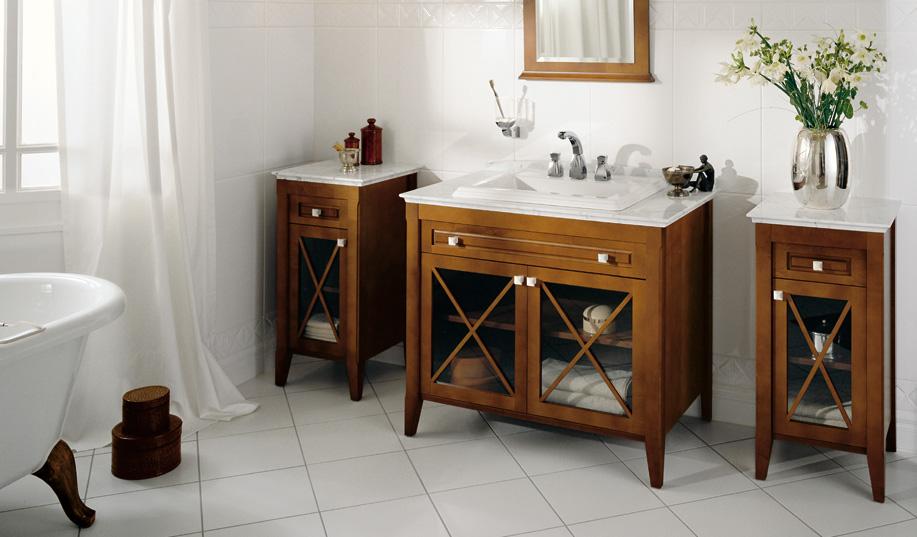Ванная комната в классическом стиле или в ретро стиле