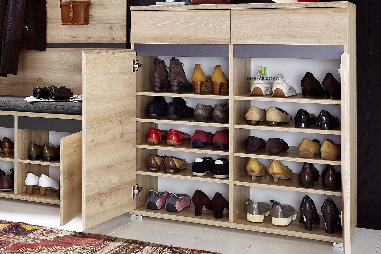 Вместительный комод для обуви