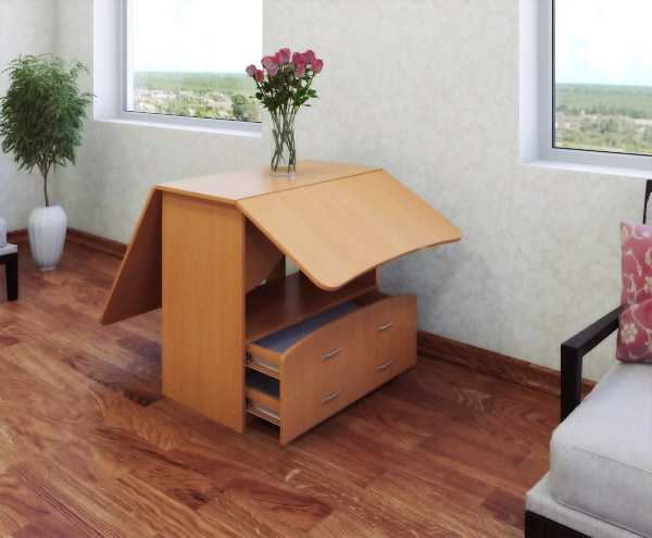 Ящик внизу стола