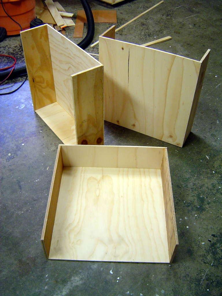 Какие должны быть ящики