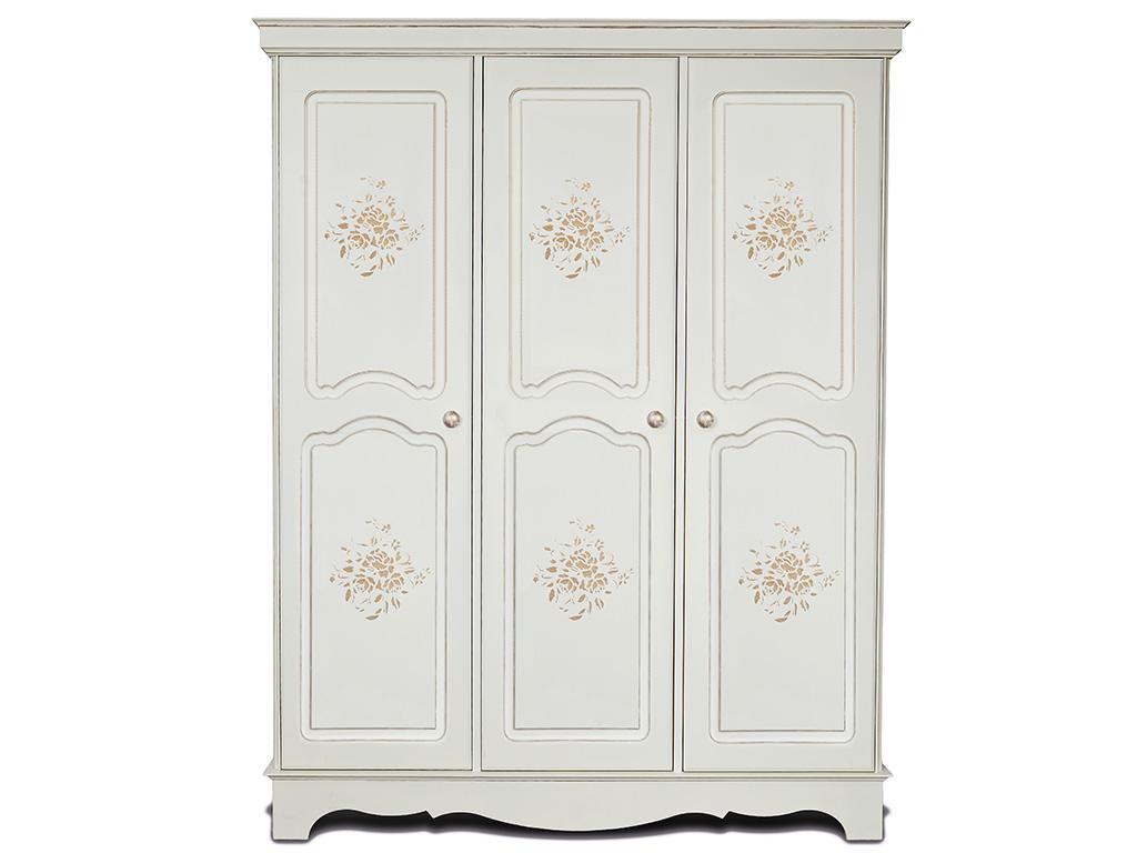 Белые шкафы для одежды