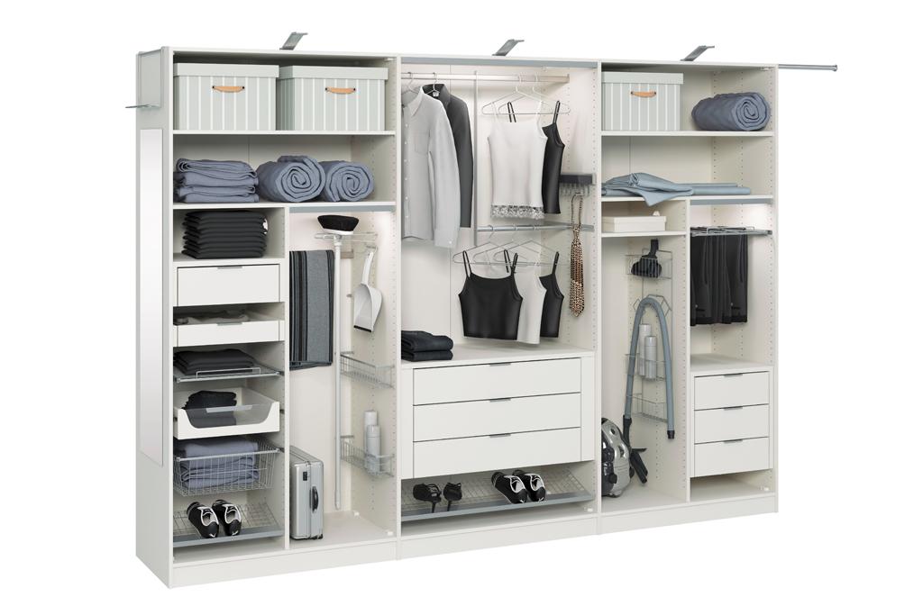 Белый шкаф купе