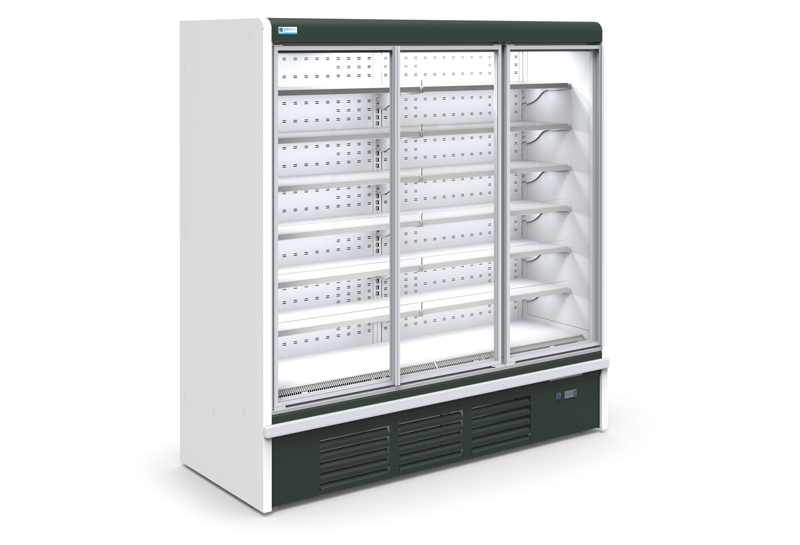 Большой холодильный шкаф