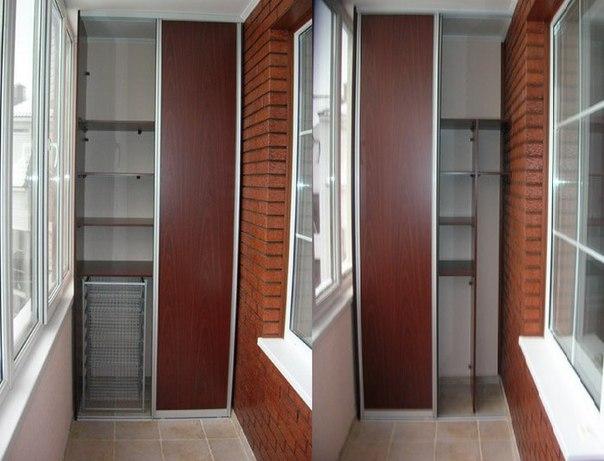 Чем заполнить балконный шкаф