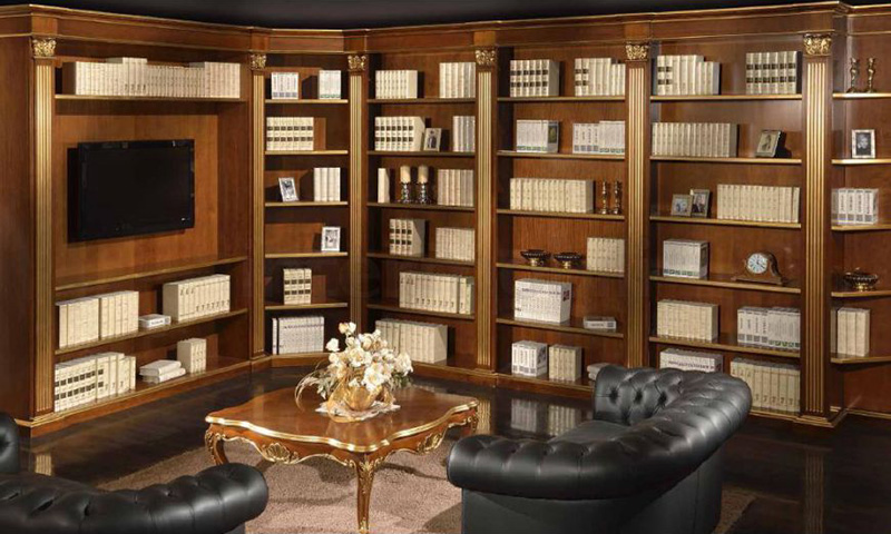 Деревянная библиотека