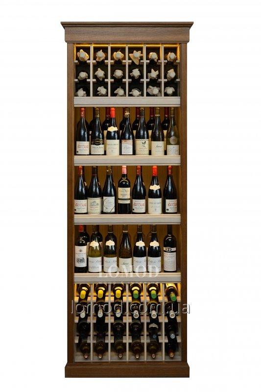Деревянный шкаф для вина