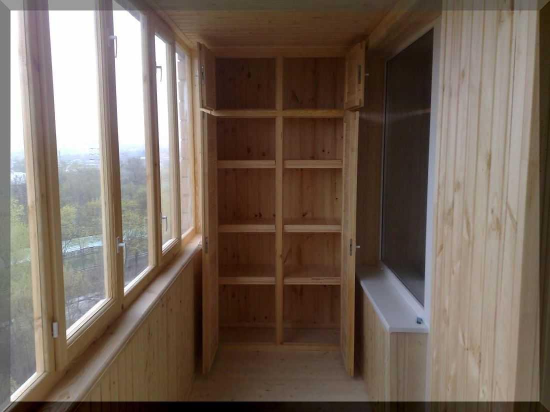 Шкафы для балконов.