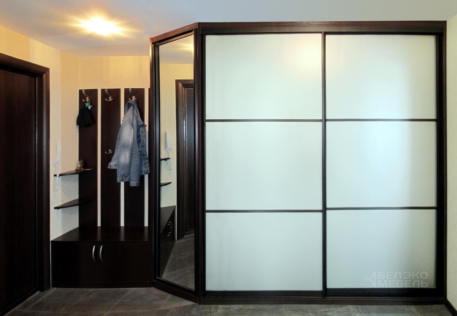 Функциональный шкаф-купе для прихожей