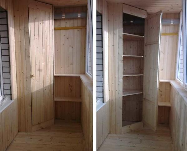 Готовый шкаф