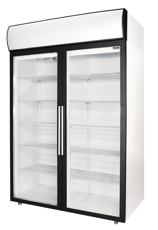 Холодильный шкаф с полками