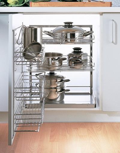 Хранение посуды в кухне