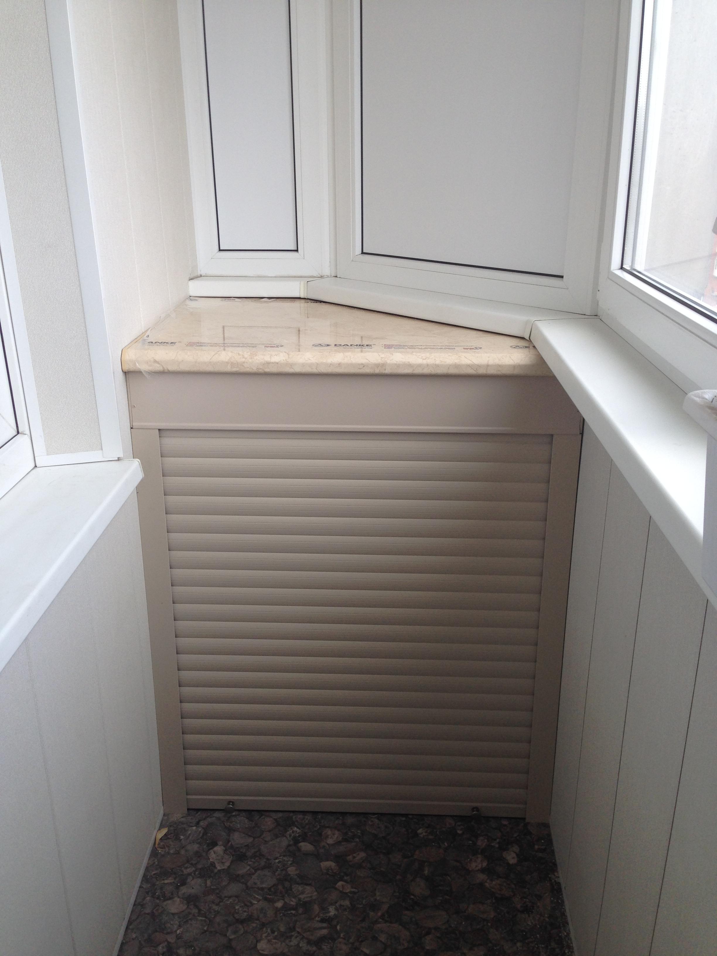 Идеально подходит для нестандартных балконов