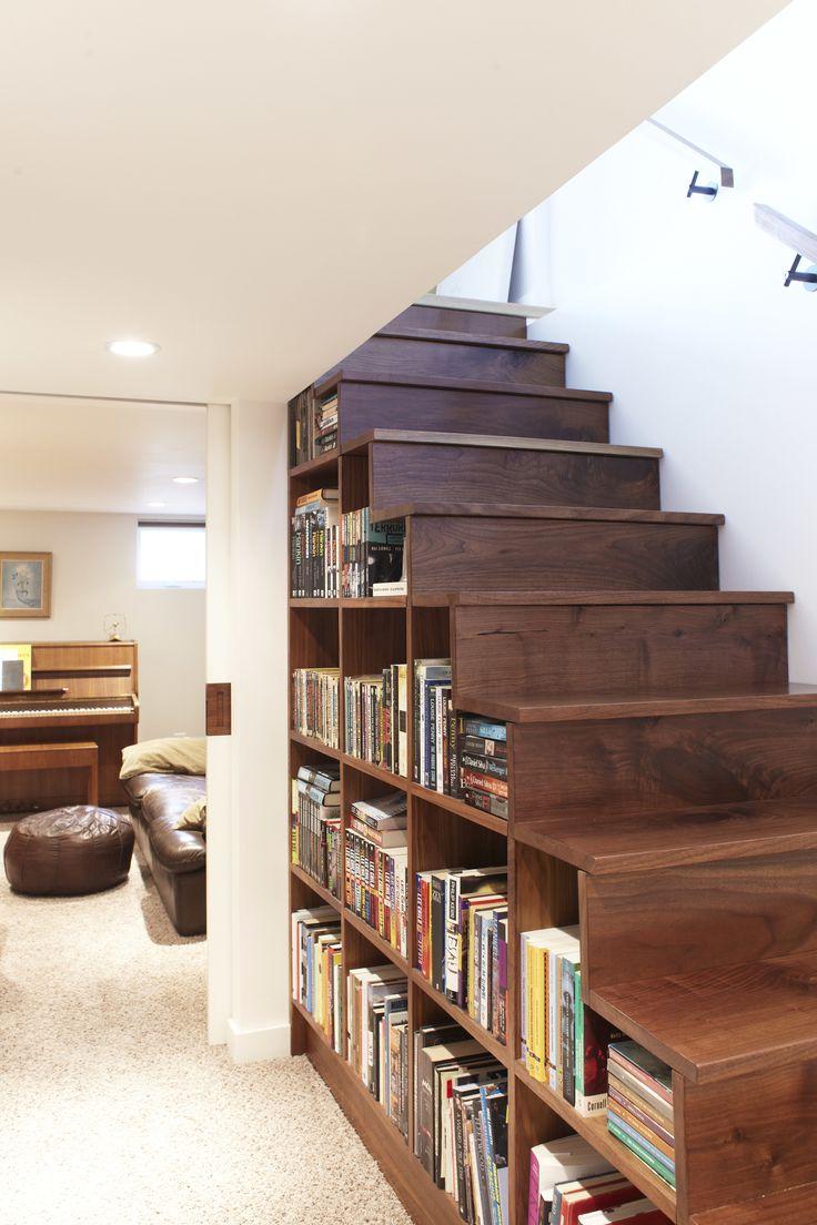 Книги под лестницей