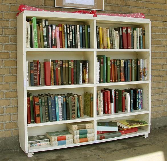 Книжные шкафы и полки в детскую
