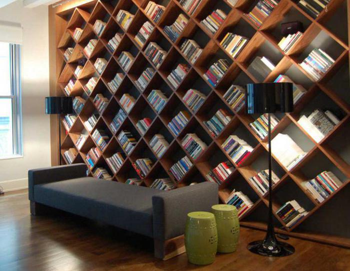 Книжные шкафы – разновидность конструкции