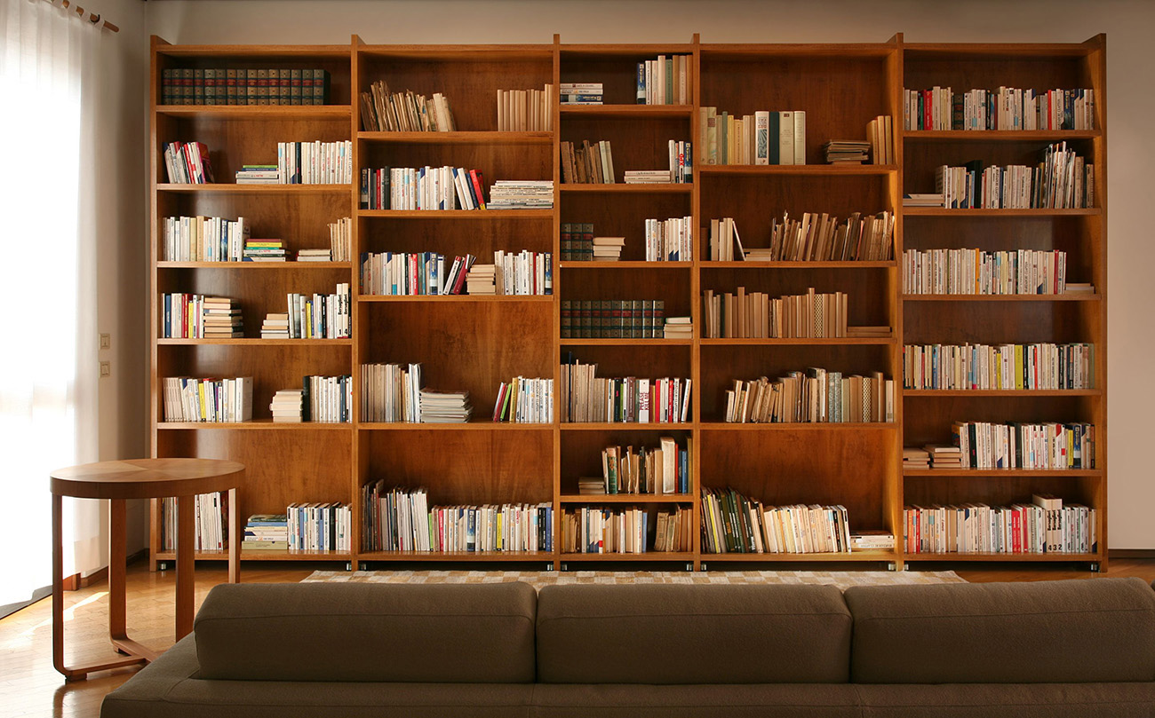 Книжные шкафы в стиле арт деко