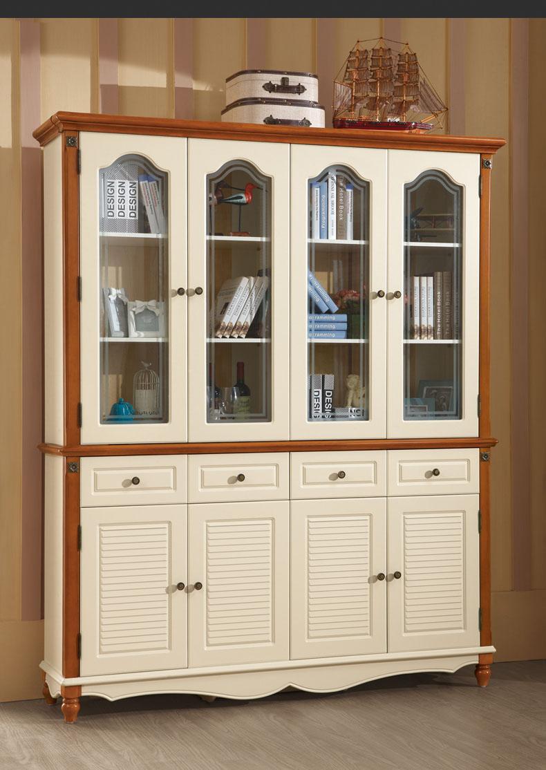 Книжный шкаф в средиземноморском стиле