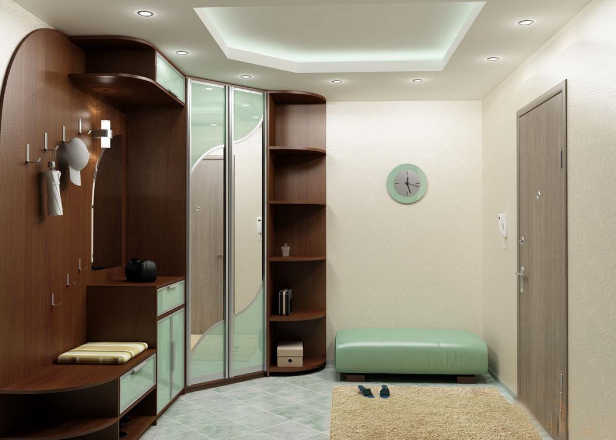 Комбинированный угловой шкаф