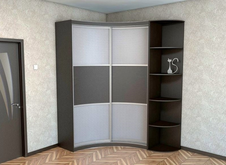 Корпусный радиусный шкаф