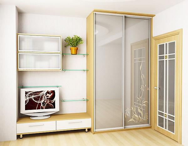 Корпусный шкаф купе для гостиной