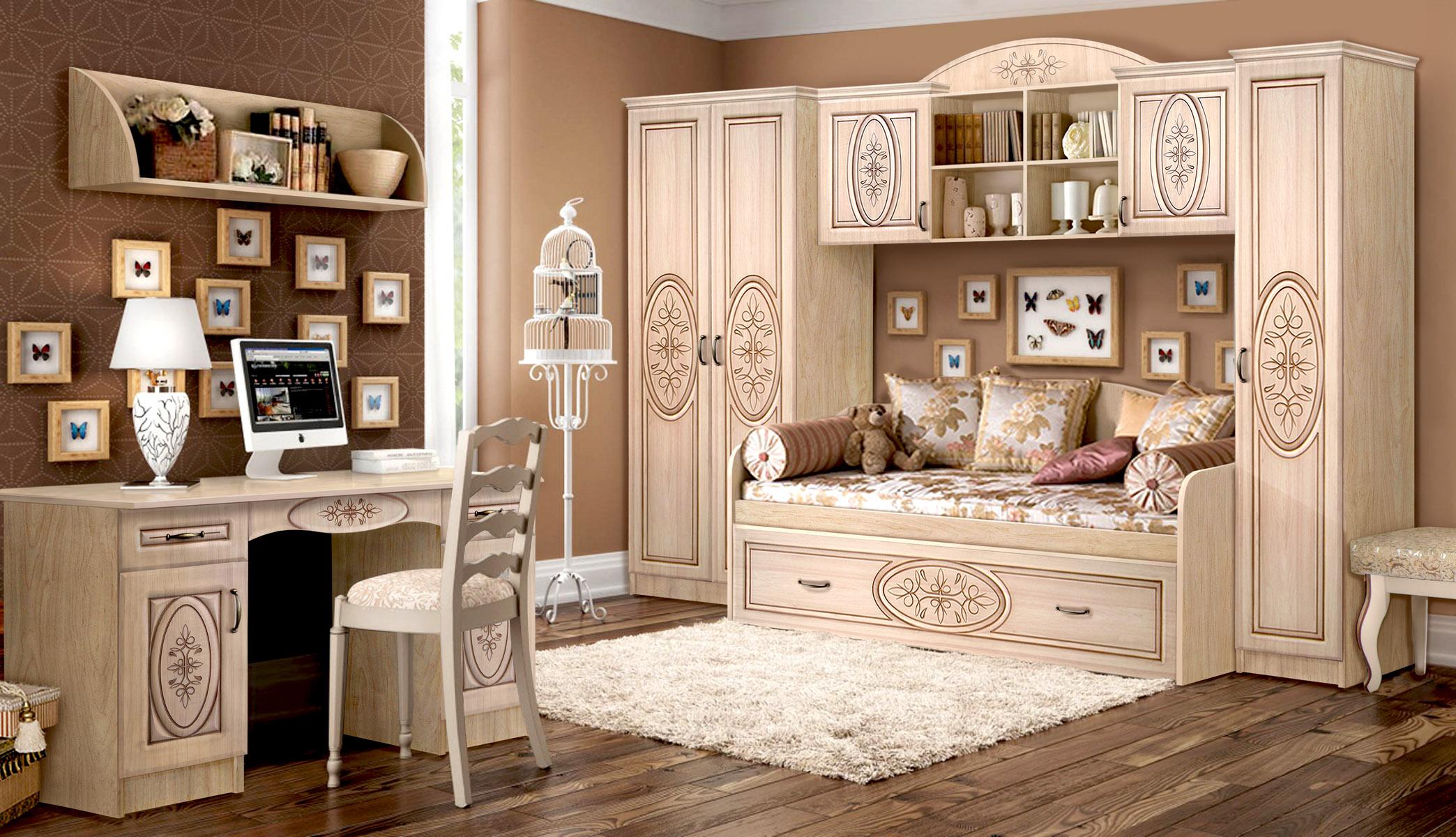 Красивая модульная спальня