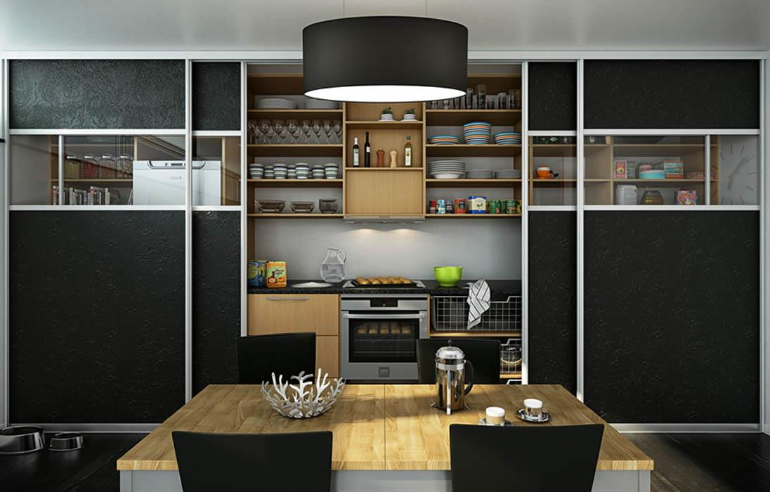 Кухонные шкафы купе