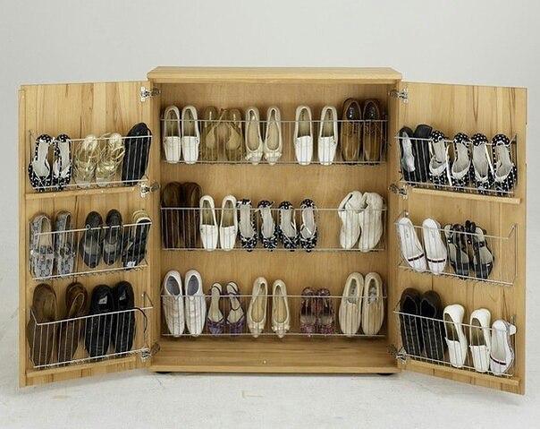 Наполнение обувницы