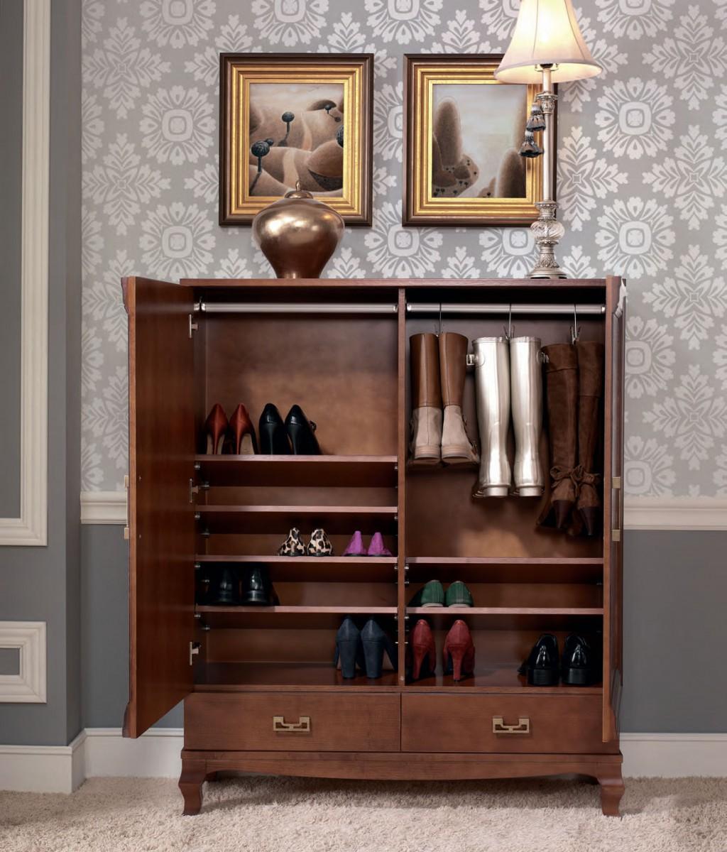 Наполнение обувного шкафа