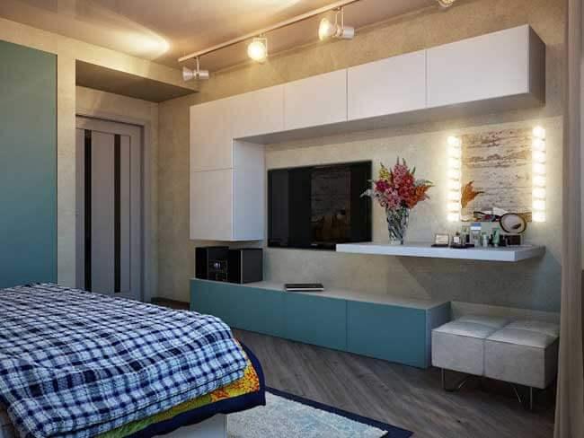 Настенные шкафы для спальни