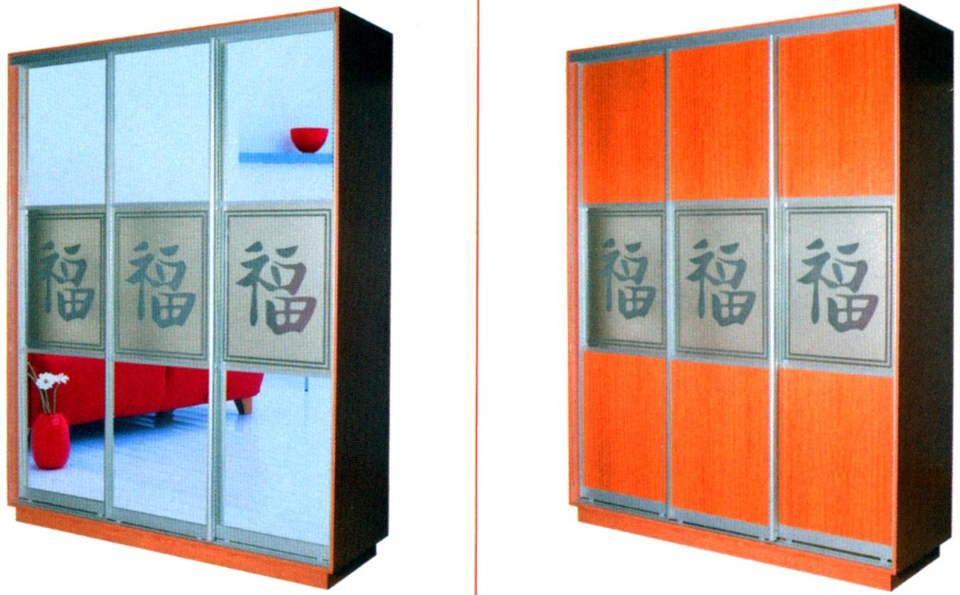 Образцы шкафов с пескоструйным рисунком