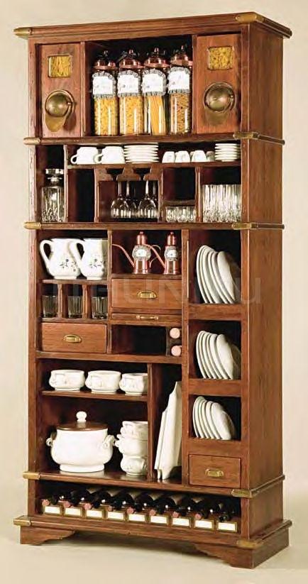 Открытый шкаф для посуды